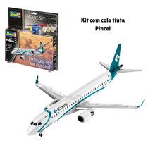 Kit Para Montar Revell Gif Set Embraer 195 Air Dolomiti