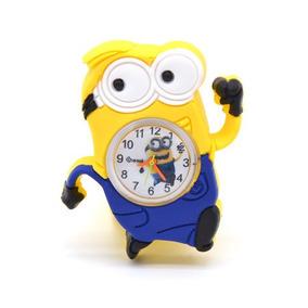 Reloj Pulsera Niño Minion Relojes Regalo Moda Fiesta