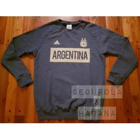 Buzo Argentina 2018 Azul Y Dorado