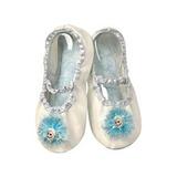 Zapatos Para Disfraz Disney Elsa Deslizador Azul