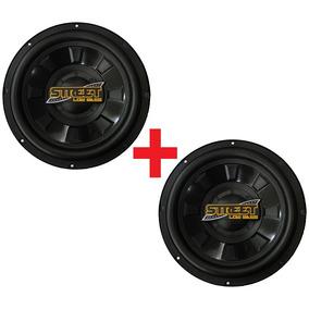 2 Subwoofers Spyder Low Bass 12 Pol. Auto Falante 400w Rms