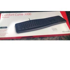 Teclado Usb Ergonómico Comfort Curve 3000 Microsoft, Nuevo