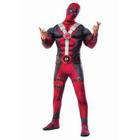 Disfraz Adulto Hombre Deadpool Movie Musculoso