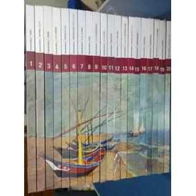 Livro Folha Grandes Museus Do Mundo 18 Volumes.