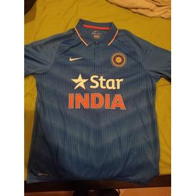 Casaca Jersey Polo Cricket India Nike Oficial