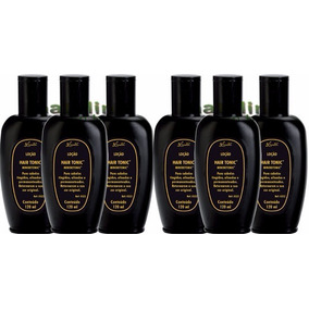 Loção Escurecedora Minoxitonic Hair Tonic 120ml 6 Unidades