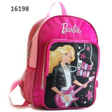 Mochila Barbie Rebatible 29x12x40 Pf 6198 Juguete Margarita