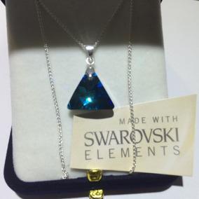 Swarovski Elements Cadena Gota O Triángulo!