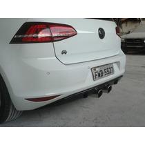 Spoiler Difusor Traseiro Volkswagen Golf Mk7 Modelo R