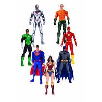 Justice League Dc Rebirth Action Figure 7pack