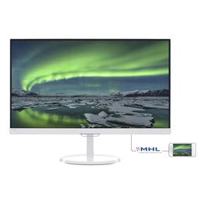 Monitor 23 Philips White Full Hd Ips Hdmi Vga 237e7qdsw Pce