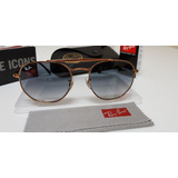 Óculos Sol Ray-ban Marshal Rb3648 Cobre Lentes Cinza Degradê 8efb6c7fa6