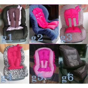 Capa Cadeira Auto Infantil Completa P/ Carro Extra Confort