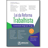 Lei Da Reforma Trabalhista Comentada Artigo Por Artigo