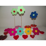 Flores De Anime Para Decorar Fiestas, Candy Bar, Carteleras
