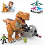 Imaginex T-rex Deluxe Tiranosaurio Fisher Price Carruks