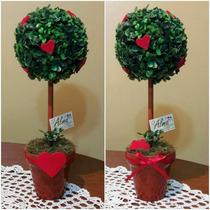 Regalo Aniversario San Valentin Dia Del Amigo Topiario Coraz