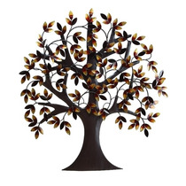 Arbol Metal Adorno De Pared