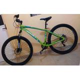 Bicicleta Montaña Aluminio R29 Freno Disco Suspensión Veloci