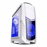 Case Halion Phatom 8801 C/fuente 500w Real Usb3.0 Fanx2 Azul