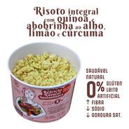 Risoto Integral Com Quinoa E Abobrinha Sem Glúten Sem Leite