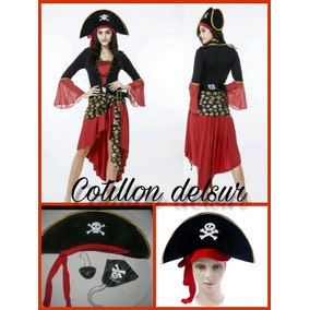 Sombrero Gorro Pirata Cotillon Fiesta Carioca Disfraz!