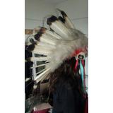 Casco De Jefe Siuoxoriginal Eeuu Hecha Con Plumas De Aguila