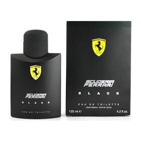 Ferrari Black Perfume 125ml - 100% Lacrado Origina