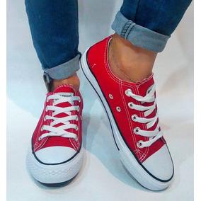 Calzado Zapatos Para Damas Tipo Convers (varios Colores )