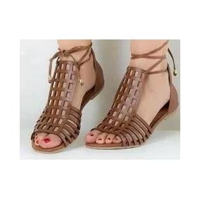 59b53033ea Rasteirinhas Feminina Tamanho 33 - Sandálias e Chinelos Gladiadoras ...