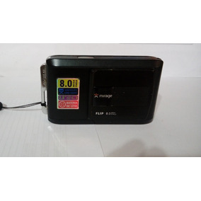 Camera Digital Mirage Flip 8mps - Preta Com Bateria