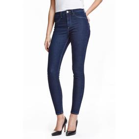 Jeans Mujer Elastizados Tiro Alto Combo X 2