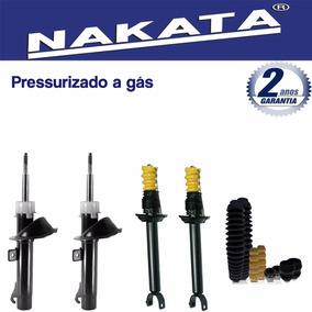 Kit 4 Amortecedor Nakata Fiesta 1998 1999 2000 2001 + Kits