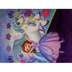 Cobertor Ligero Matrimonial Princesa Sofia Envió Incluido