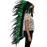 Extra Long Feather Headdress-indio Nativo Americano Inspira