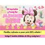 Minnie Mouse Baby Kit Imprimible Mimi Bebe Invitaciones 2017