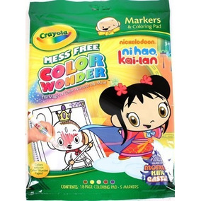 Crayola Color Wonder Nick Ni Hao Kai Lan Para Colorear Pad