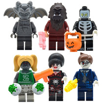 Monster Fighter Lobo Porrista Zombi Compatible Con Lego