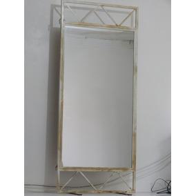 Biombo Ferro Com Espelho - Espetacular - Coisa Chique !