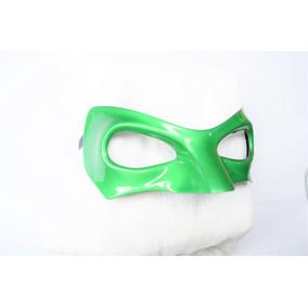 Antifaz De Linterna Verde Disfraz