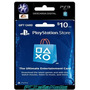 Tarjeta Psn-usa 10 Para Comprar Juegos Ps3, Ps4, Vita, Psp.