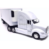 1:32 Tracto Camion Kenworth T700 Trailer Thermo A Escala