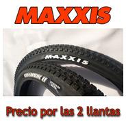 2 Llantas Maxxis Crossmark I I 27.5*2.25/talón Convencional.
