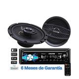 Auto Estéreo Steelpro Bluetooth 2 Bocinas Caratula Gtia6mese