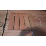 Deck En Baldozas 50 X 50cm Eucaliptus Grandis