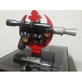 Replica Blaster Dl-44 Do Han Solo Com Suporte (star Wars)