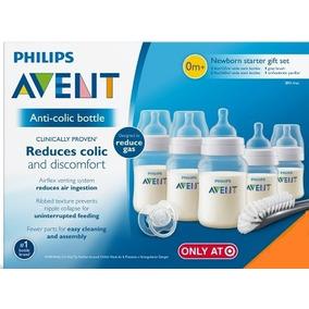 Mamadeira Philips Avent Anti-colica 7 Peças 125 E 260 Ml