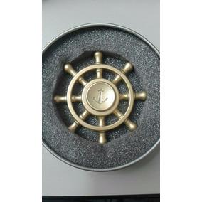 Fidget Hand Spinner Toy Anti Stress Metal Leme De Navio