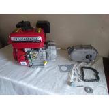 Motor Bicitaxy Embrague Y Clutch Nuevo 6.5 Hp Gasolina Karts