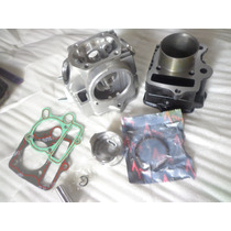 Kit Aumento Cilindrada Shineray 50cc P/ 90cc + Cabeçote 90cc